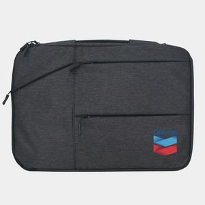 "Avila 15"" Laptop Sleeve w/ Extra zippered pockets"